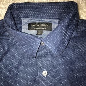 Banana Republic Mens Button Up Shirt